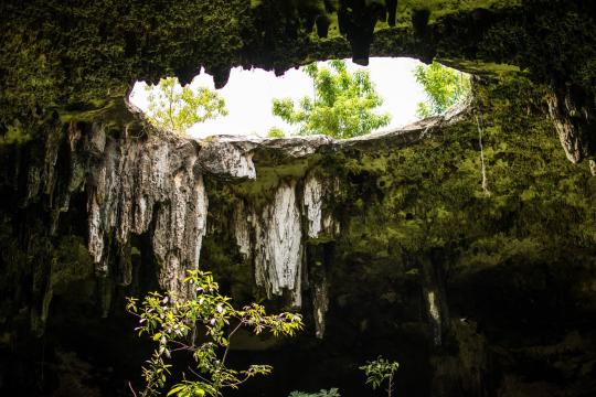 MX Mexiko Yucatan Cenote hole-4166307