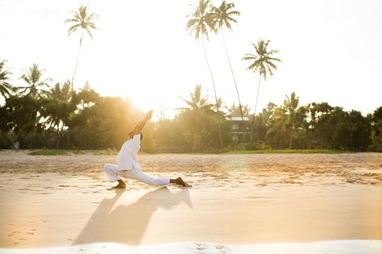LKCMBAVANI Avani Bentota Resort Sunrise Yoga