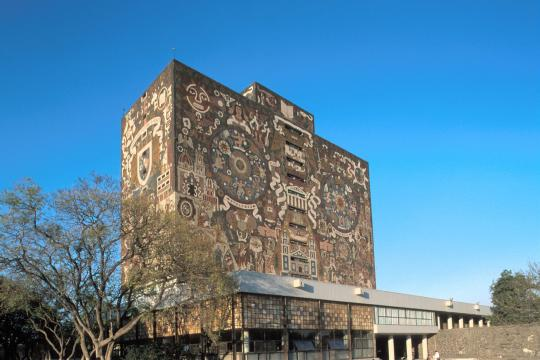 MX Mexiko City unam bibliothek