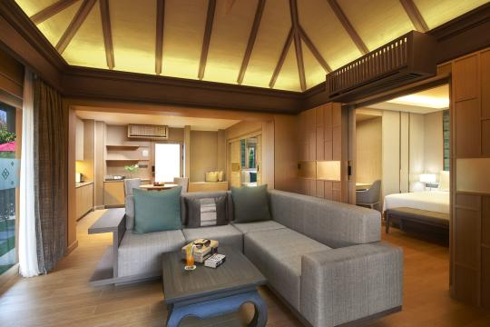 Amari Vogue Krabi One Bedroom Pool Villa Living and Dining Area