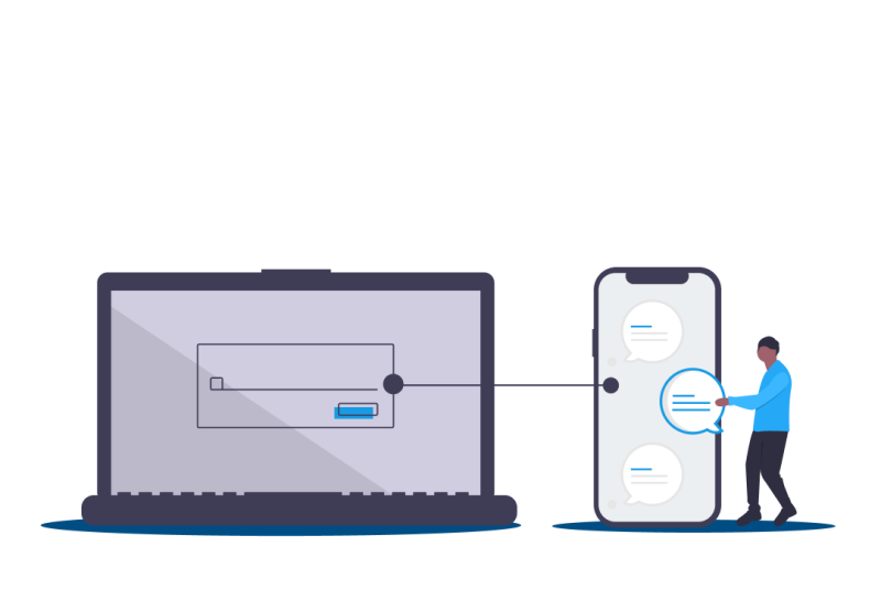 illustration tekmessage