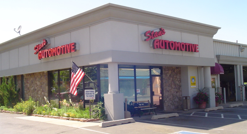 Stan's Automotive Shop Front
