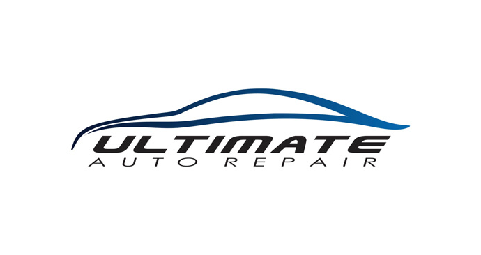 Ultimate Auto Repair Logo