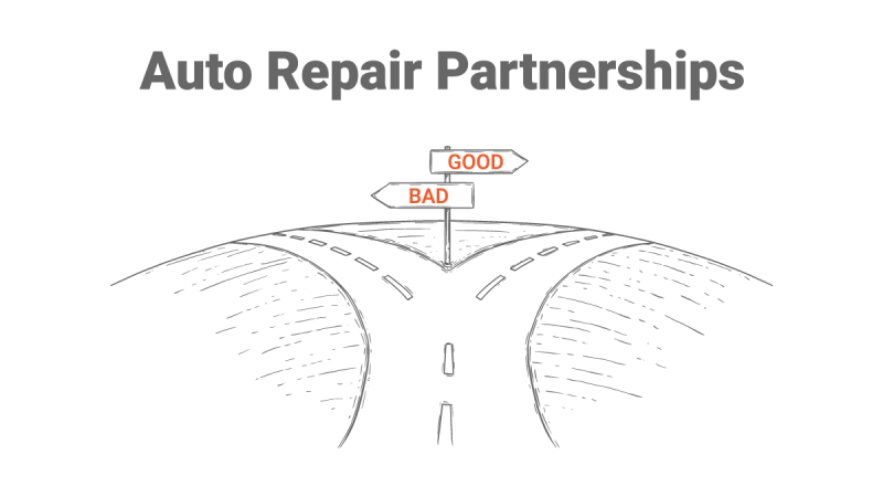 What to consider before entering an auto repair partnership.