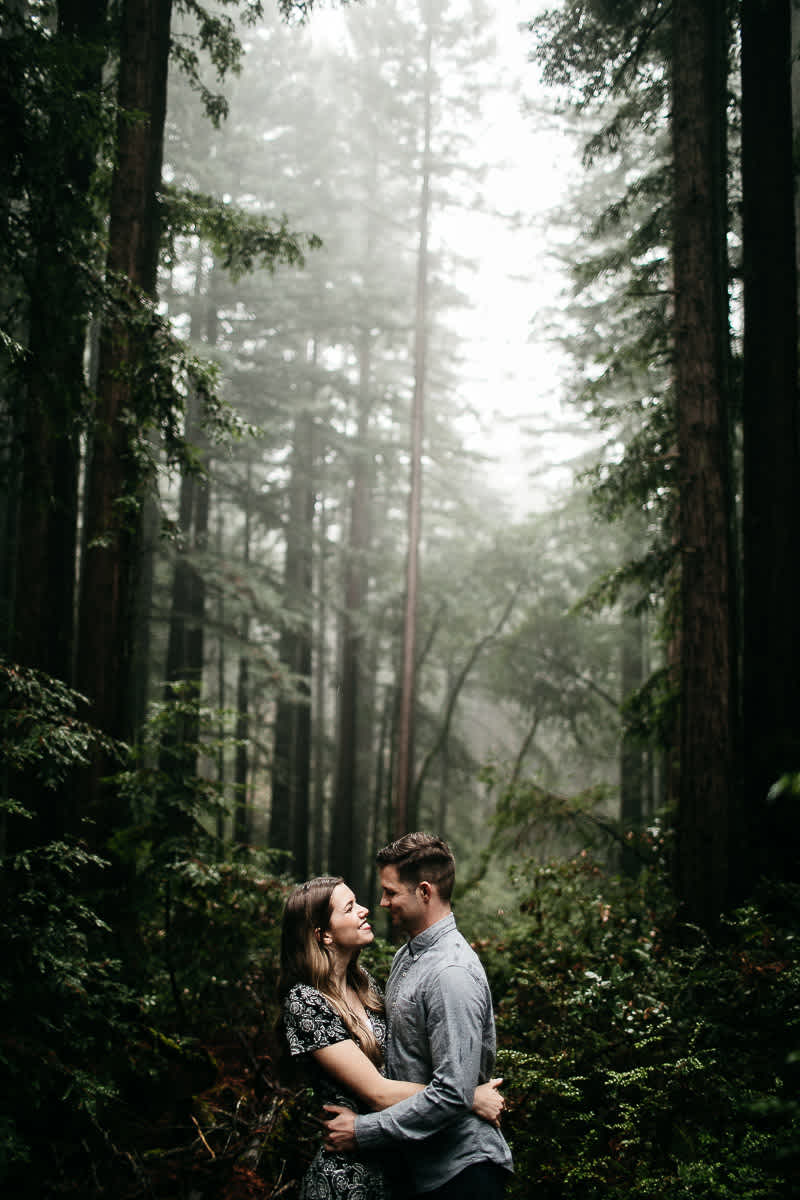 mt-tam-california-foggy-fall-engagement-hills-redwood-engagement-session-9
