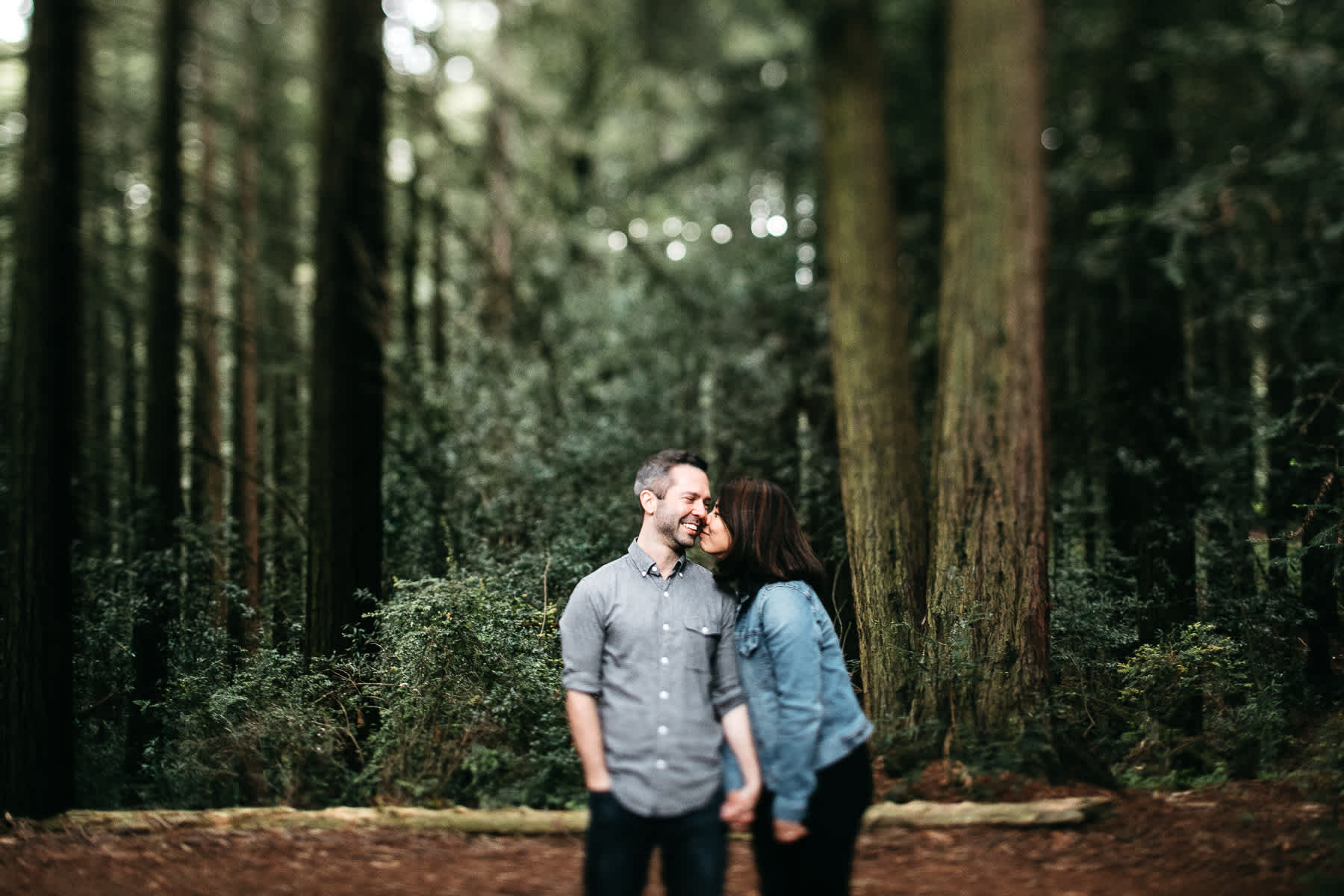 oakland-gloomy-redwood-engagement-session-with-puppy-29