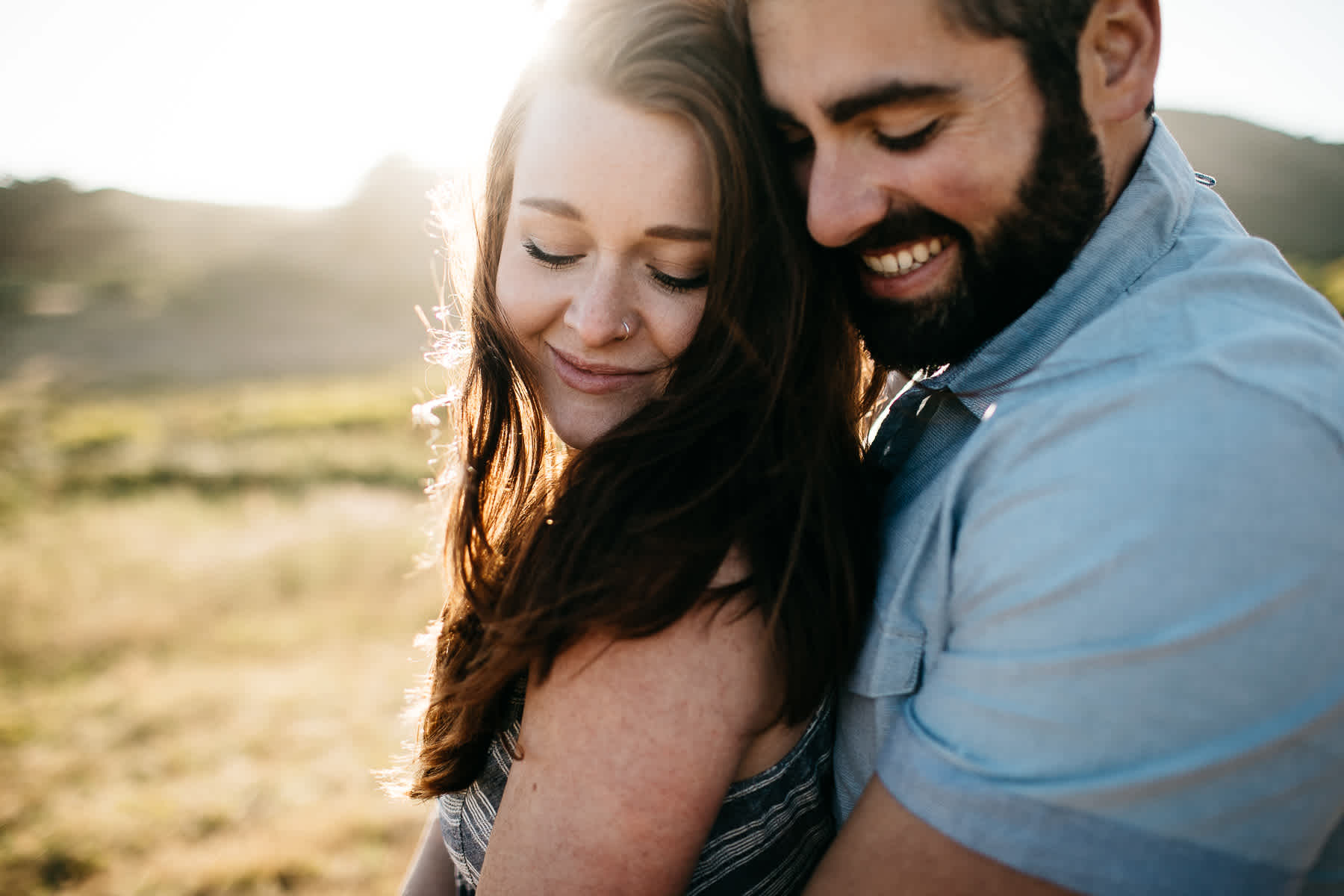 marin-headlands-rodeo-beach-lifestyle-laughter-engagement-session-22