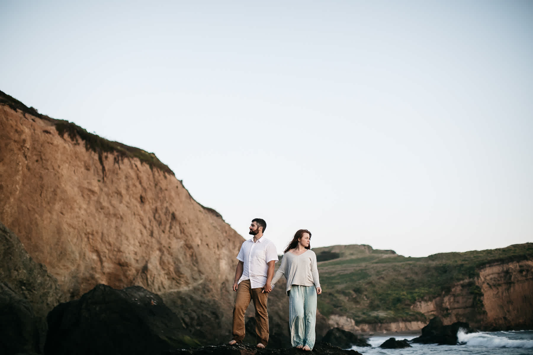 marin-headlands-rodeo-beach-lifestyle-laughter-engagement-session-70
