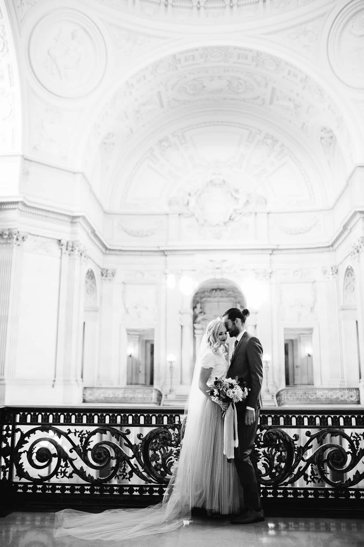 SF-city-hall-blush-skirt-elopement-11
