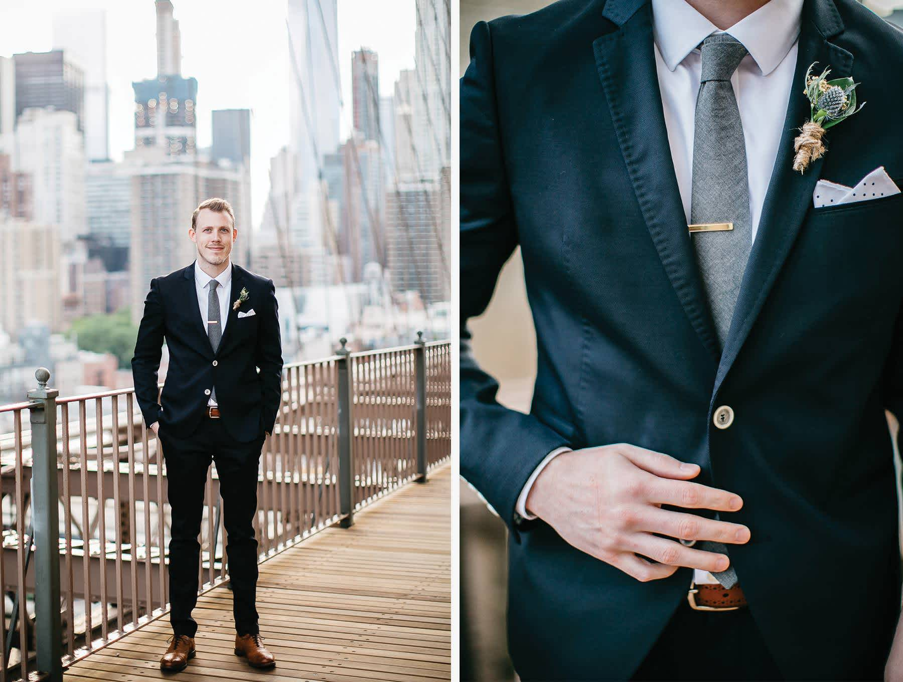 groom-brooklyn-bridge-nyc-elopement