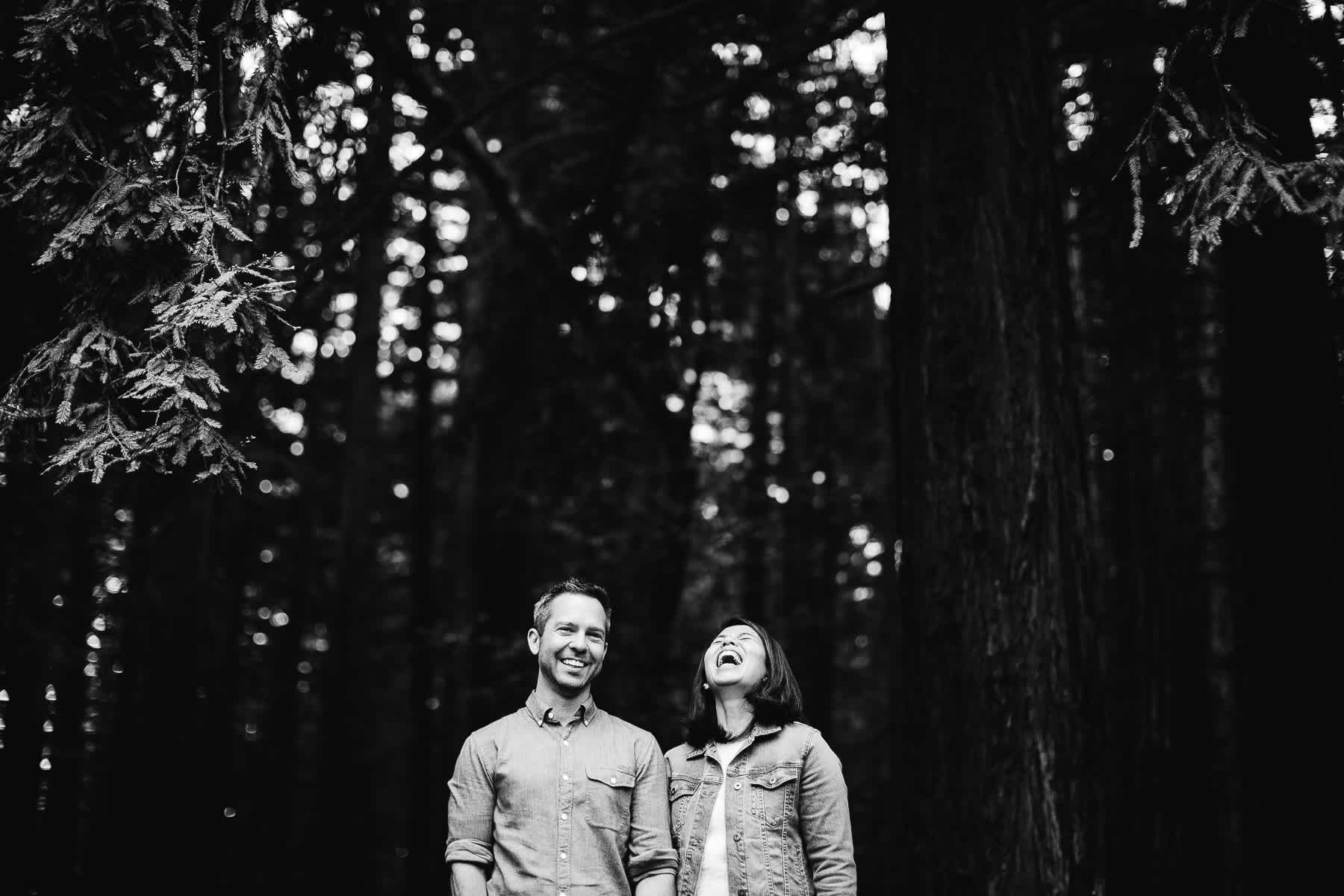 oakland-gloomy-redwood-engagement-session-with-puppy-38