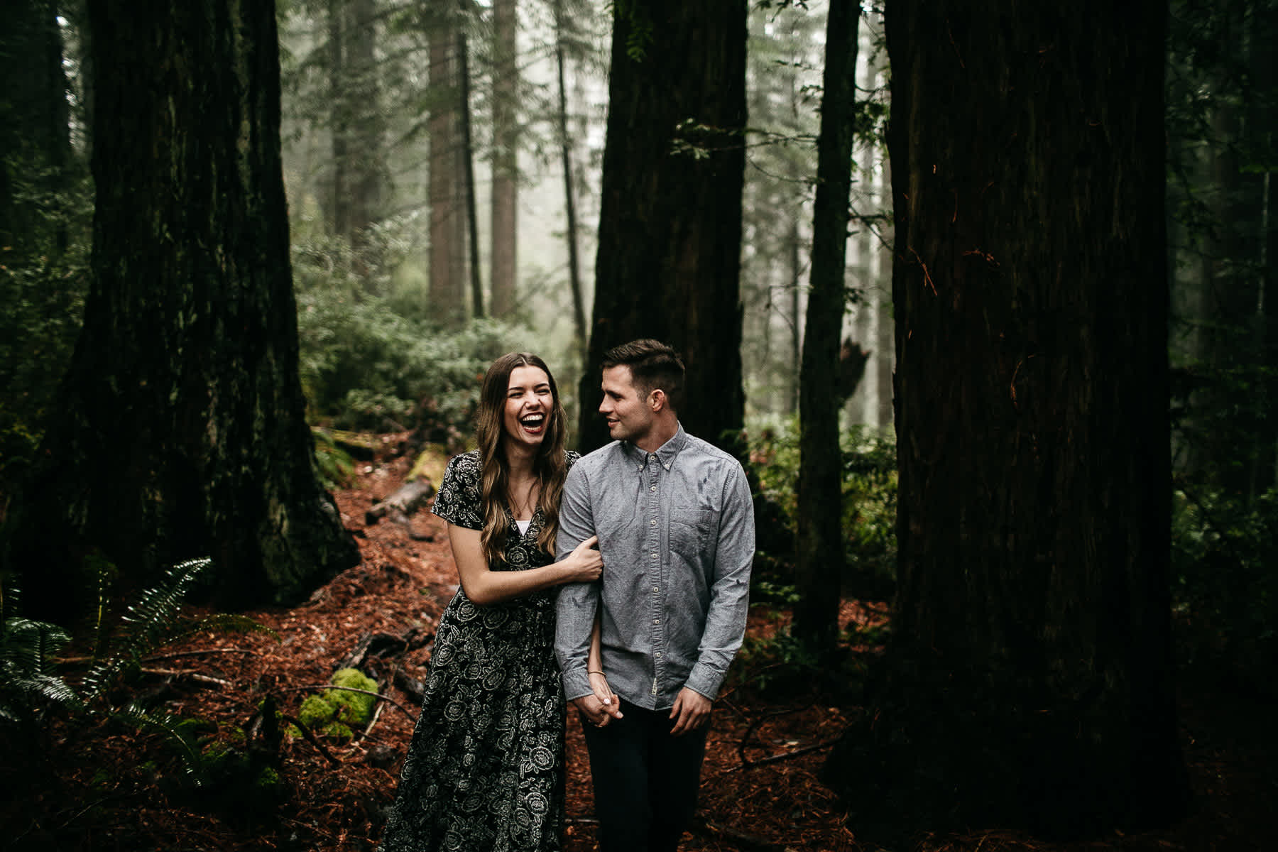 mt-tam-california-foggy-fall-engagement-hills-redwood-engagement-session-8