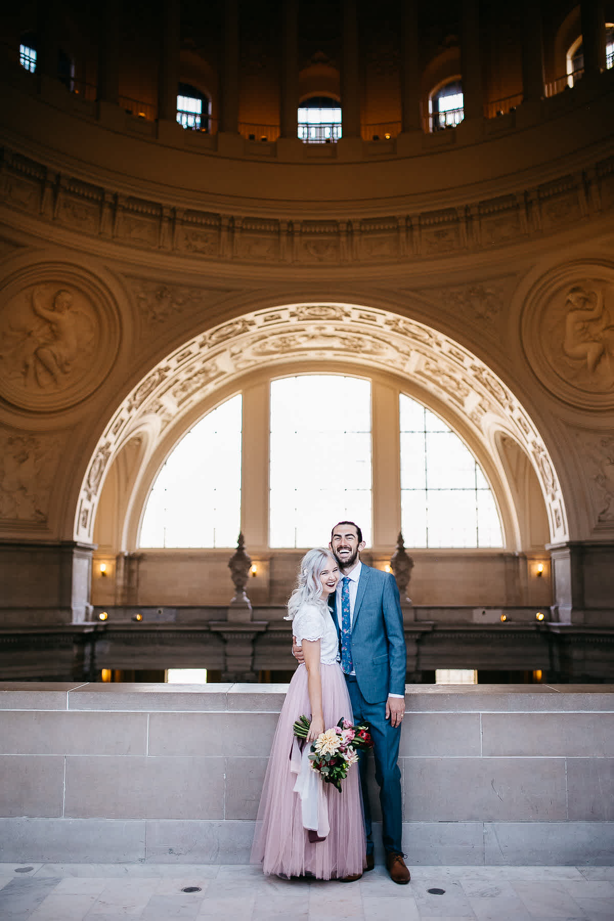 SF-city-hall-blush-skirt-elopement-25