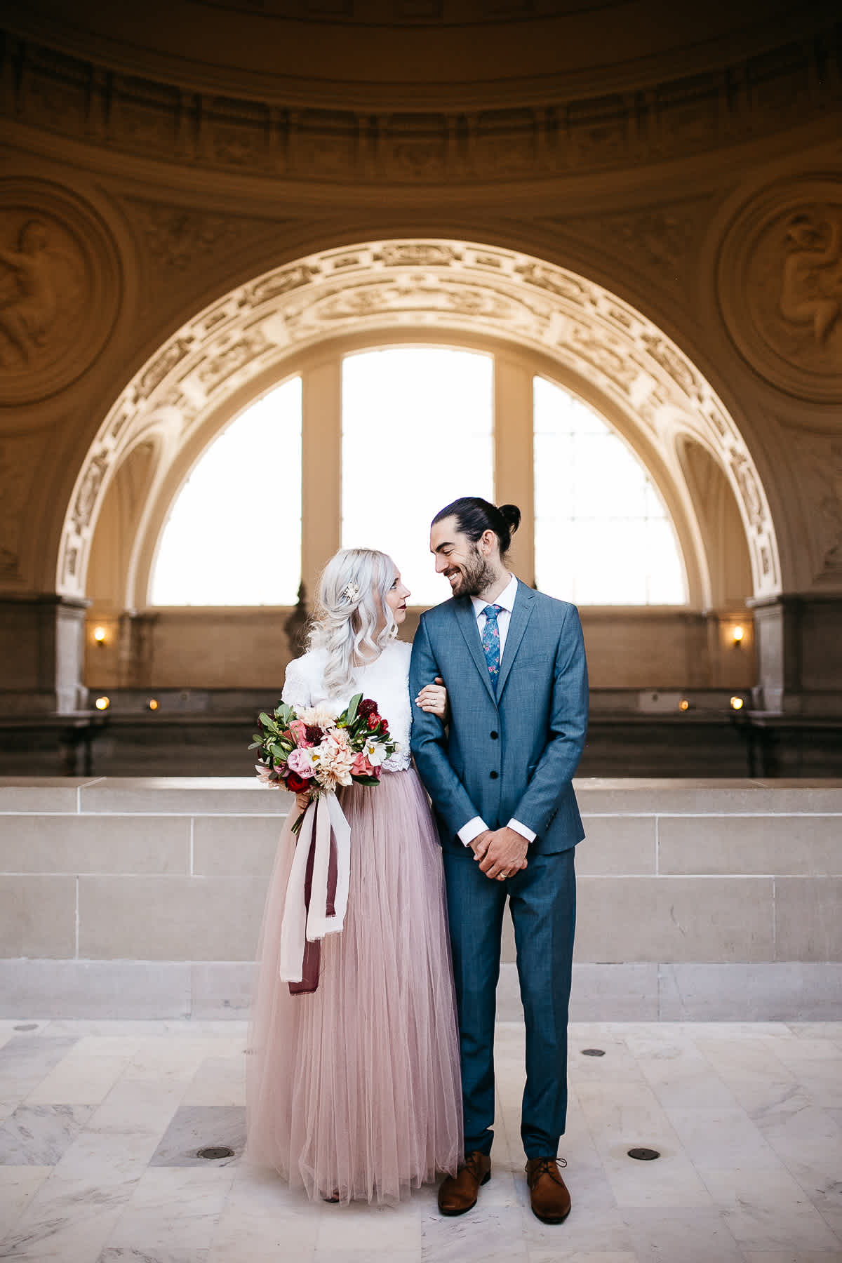 SF-city-hall-blush-skirt-elopement-44-1