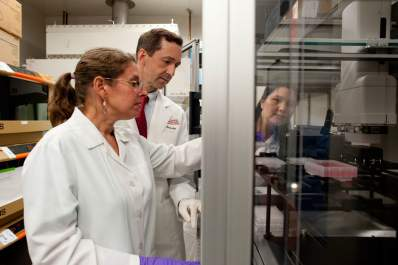 scientists in Vaccine Research Center at National Institutes of Health