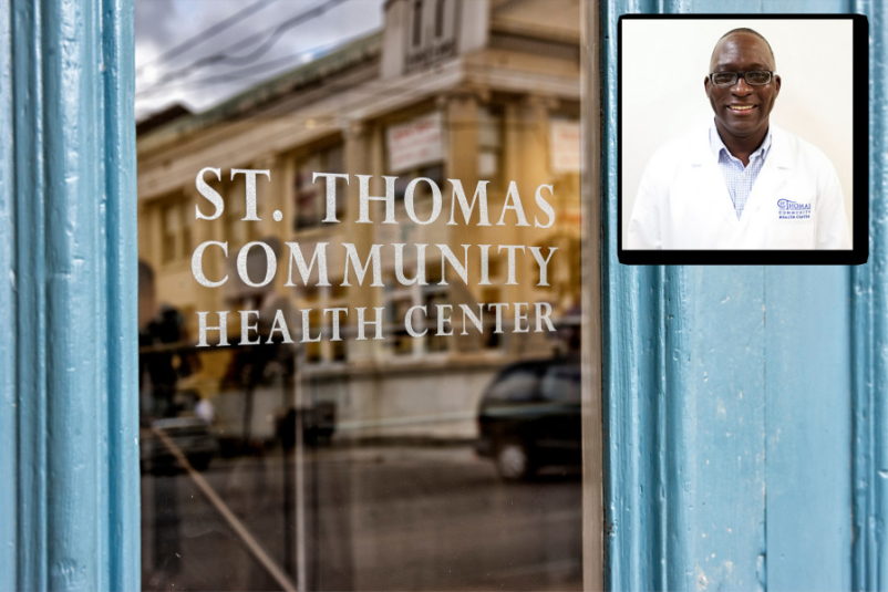 Dr Travell Kindall and St Thomas Community Health Center