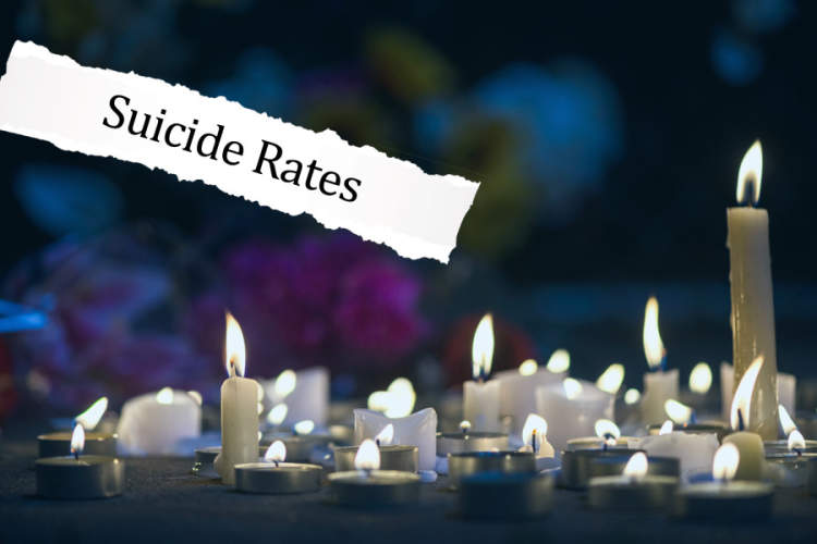 Suicide Rates photo illo