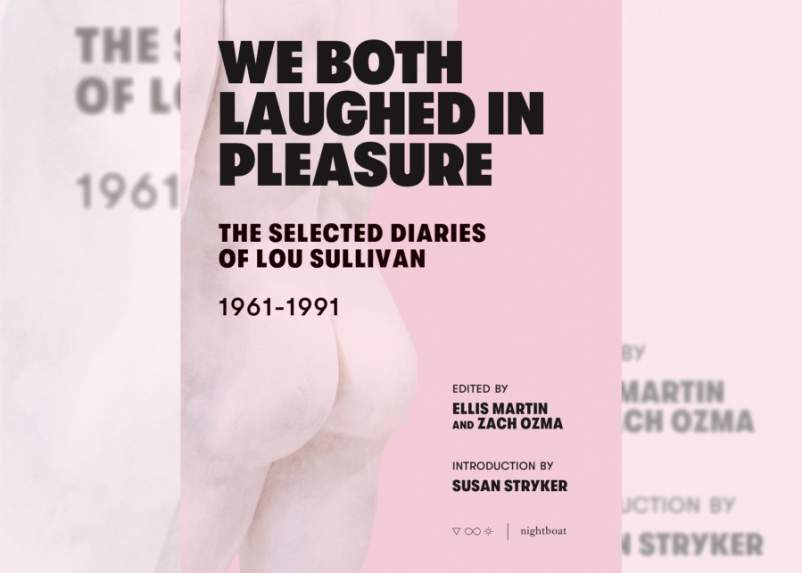 We Both Laughed In Pleasure- The Selected Diaries of Lou Sullivan cover
