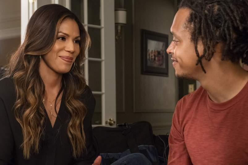 Jacob Gibson as AJ Delajae and Merle Dandridge as Grace Greenleaf