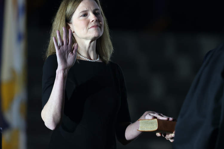 Amy Coney Barrett swearing-in