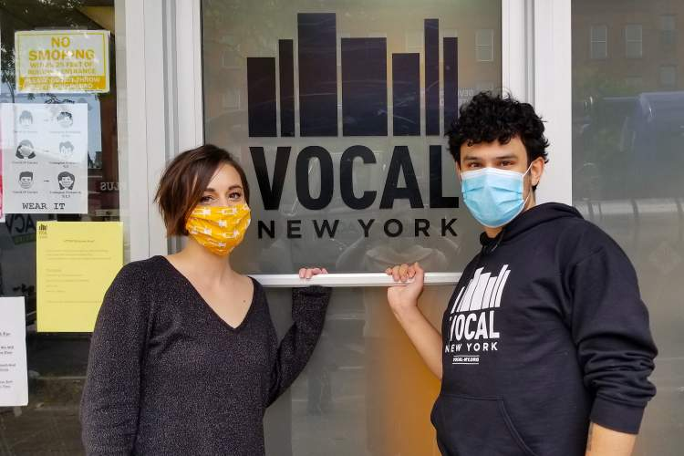 VOCAL-NY advocates