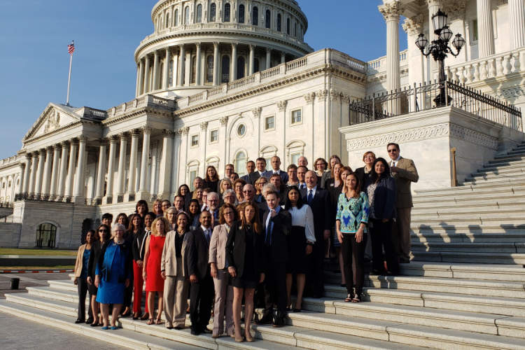 Doctors from HIVMA and IDSA on Capitol Hill
