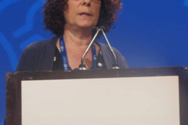 Susan P. Buchbinder, M.D., at IDWeek 2018
