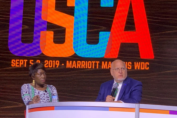 USCA 2019 MSNBC Joy Ann Reid and CDC Director Robert Redfield