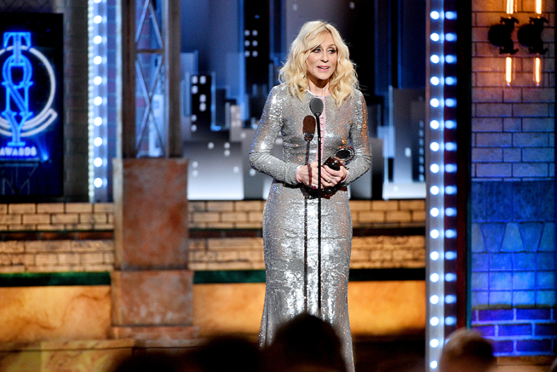 Judith Light accepts the Isabelle Stevenson Tony Award onstage during the 2019 Tony Awards