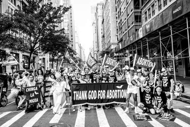 Thank God For Abortion at Pride 2019
