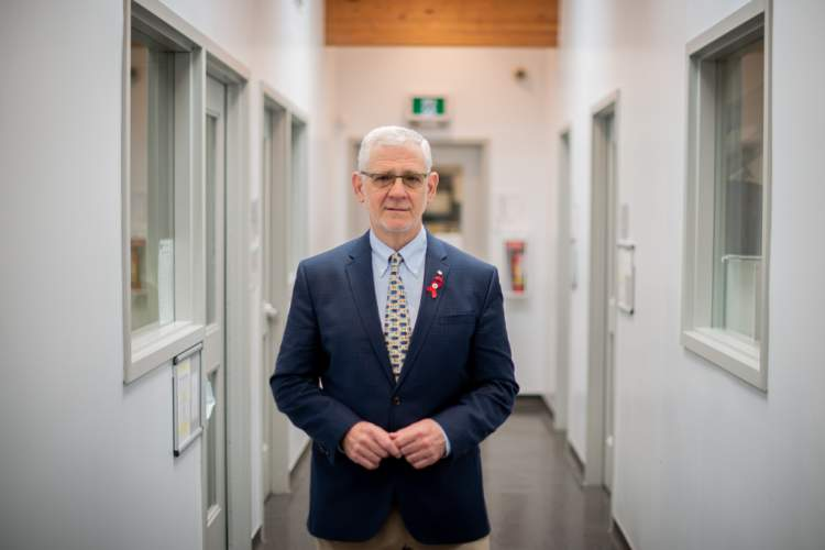 Dr. Julio Montaner, head of the BC Center for Excellence in HIV/AIDS