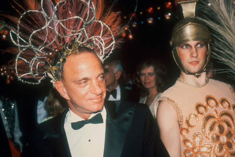 Roy Cohn at Studio 54