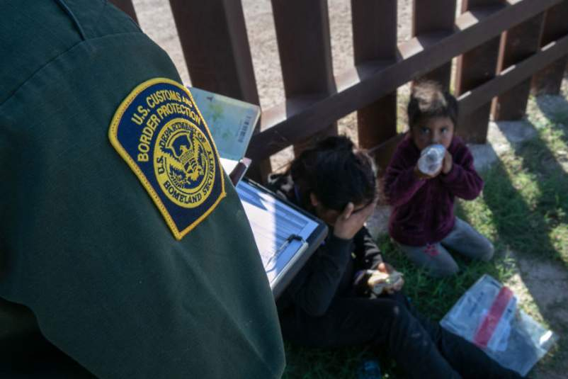 U.S. Border Agents Patrol The Rio Grande Valley In Texas