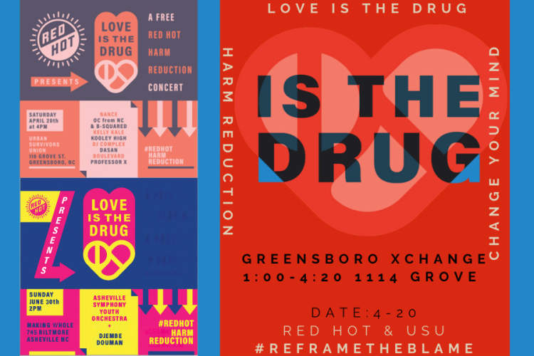 "Red Hot's latest campaign ""Love Is The Drug"" aims to support the human centered approach of harm reduction"