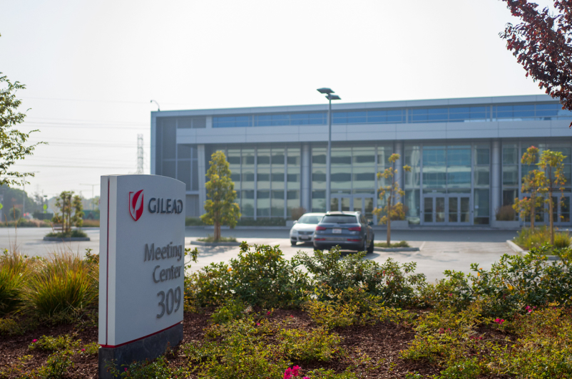 Gilead Sciences headquarters in the Silicon Valley, Foster City, California