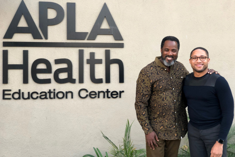 Terry Smith and Ty Gaffney Smith of APLA