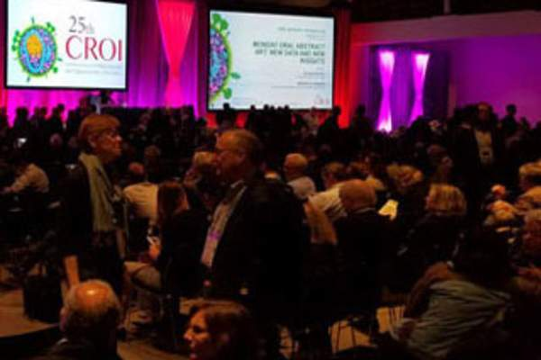 Attentdees at CROI 2018
