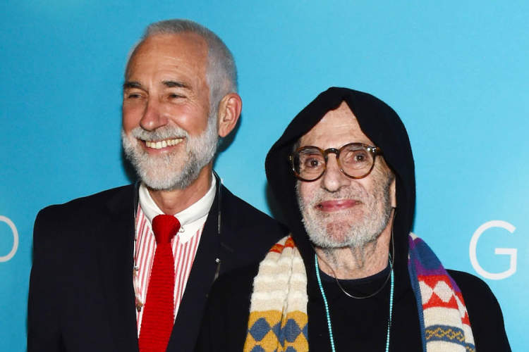 David Webster and Larry Kramer