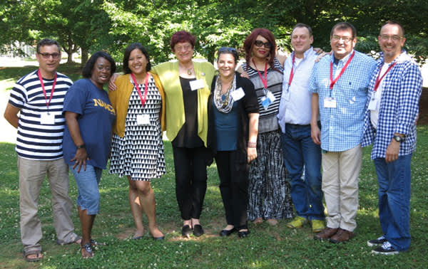 Members of the Colorado Mod Squad at the HIV Is Not A Crime II gathering (Credit: Victoria Law)