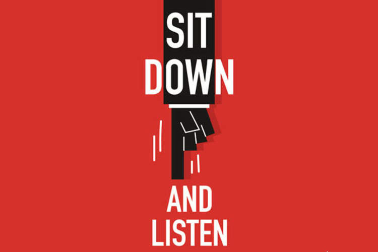 Sit Down and Listen