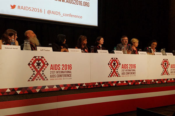 Cure panel at AIDS 2016
