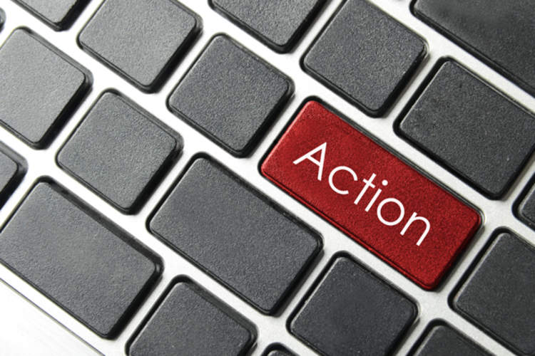 Action button on keyboard
