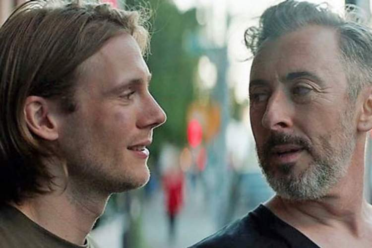 Zachary Booth and Alan Cumming in 'After Louie'
