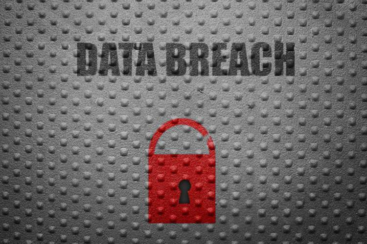 Data Breach sign