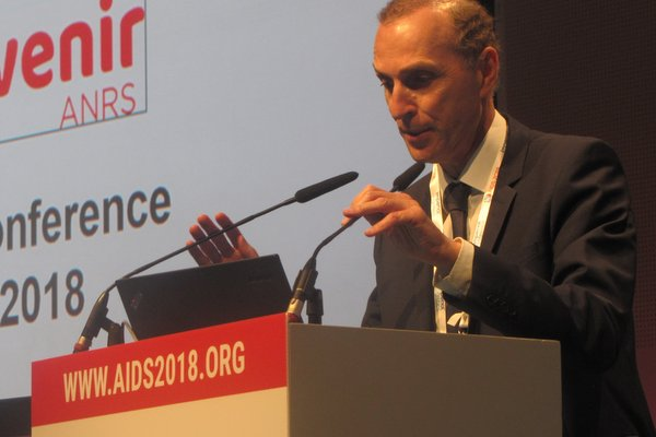 Jean-Michel Molina presents interim results from the Prevenir study at AIDS 2018