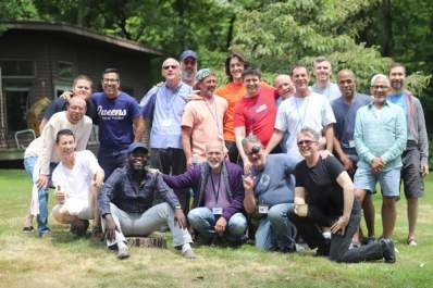 Participants of the International Brotherhood Retreat weekend