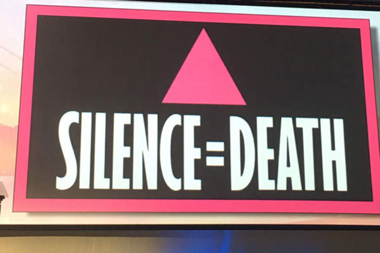 Silence=Death graphic