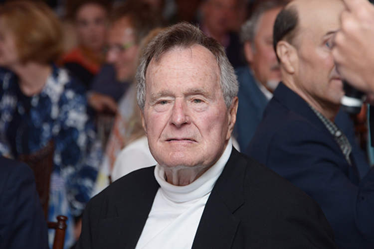 George H.W. Bush in 2012