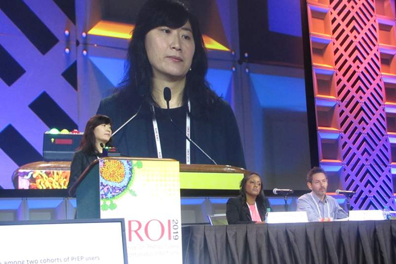 Ya-Lin A. Huang, Ph.D. at CROI 2019