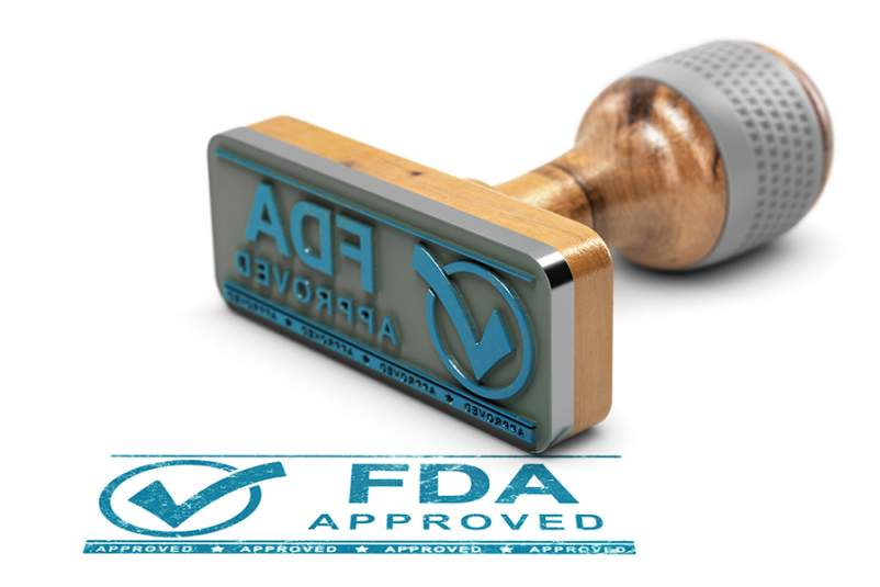 FDA approval stamp